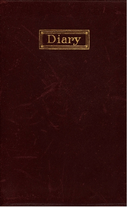 Diary of Alice Barringer Mackie