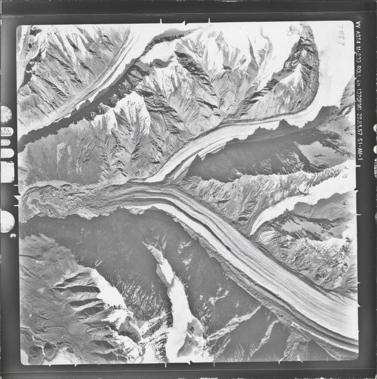 Unknown glacier near Nabesna Glacier, Alaska