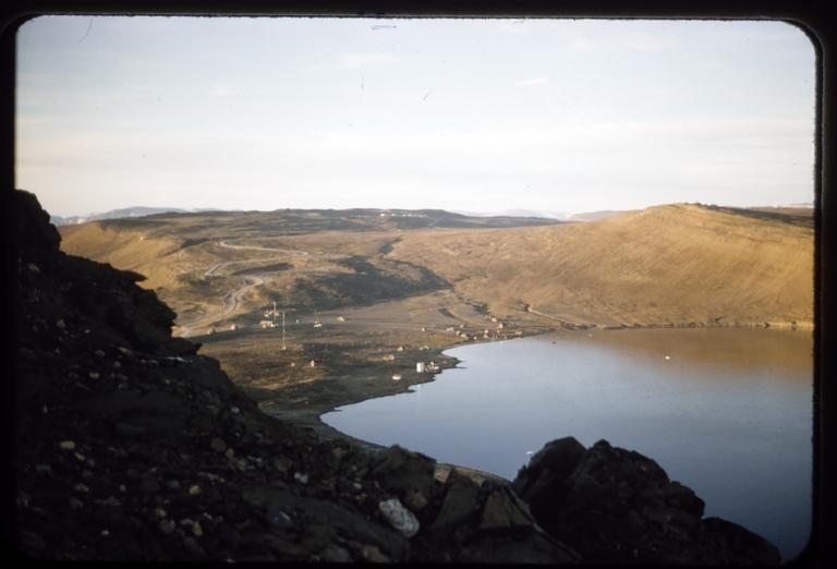 Danish area from Dundas Mountain, Greenland