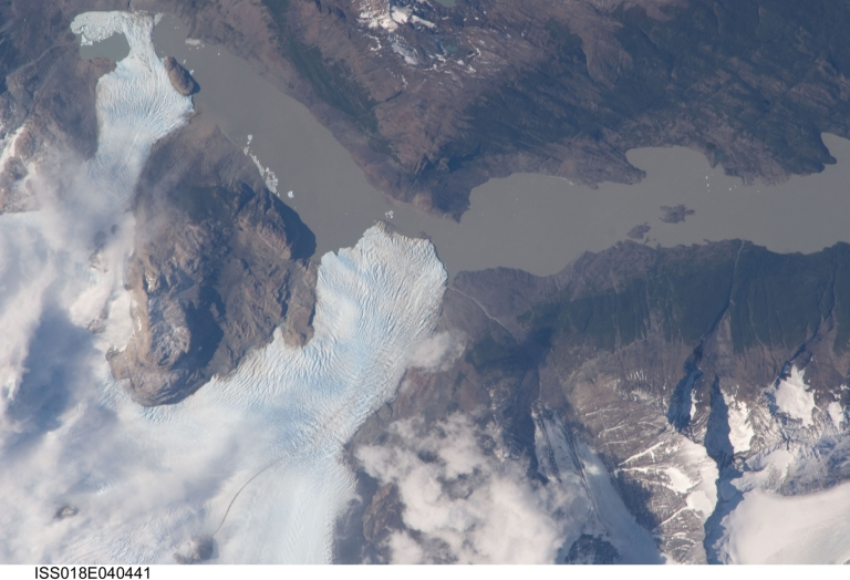 Dickson Glacier, Chile; Argentina