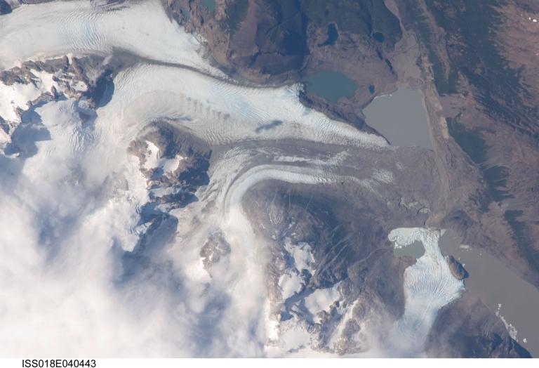 Frías Glacier (Ventisquero Frías), Río Negro, Argentina