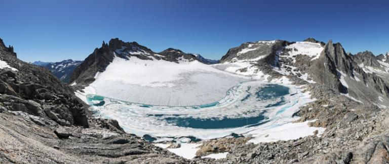 Chüeboden Glacier, Ticino, Switzerland