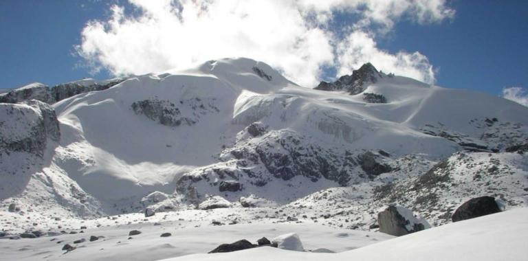 G4 Glacier, Wangdue Phodrang, Bhutan