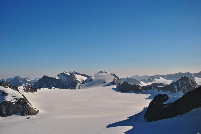 Kesselwand Ferner Glacier, Tyrol, Austria