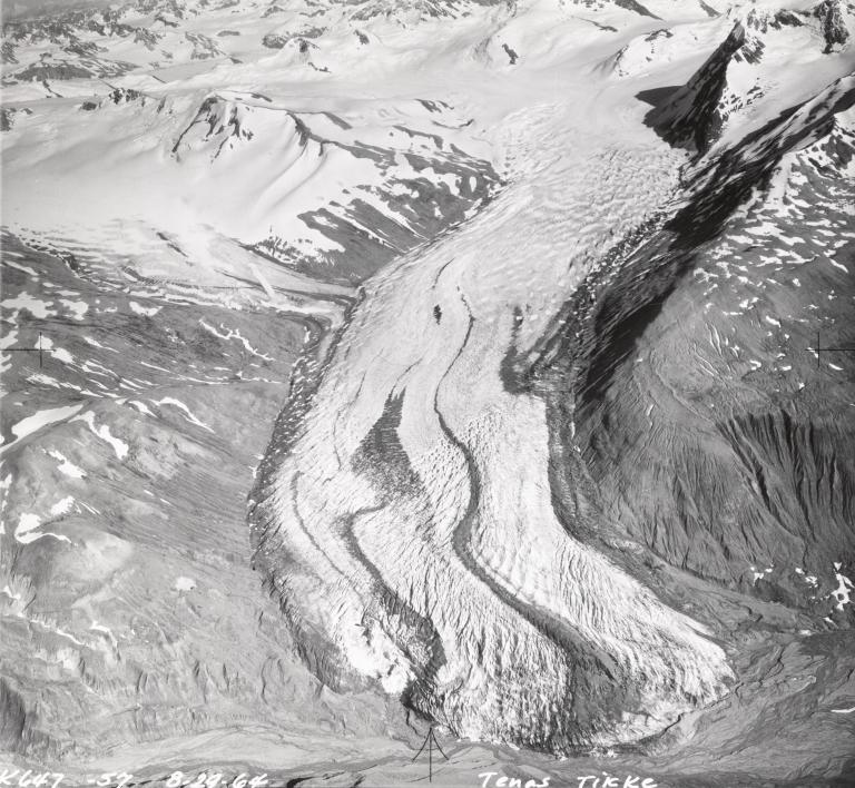 Tenas Tikke Glacier, Alaska, United States