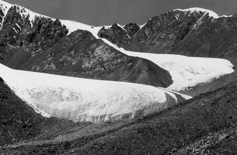 Urumqi Glacier, Xinjiang, China