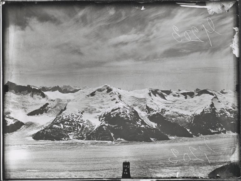 Baird Glacier, from Angle 76 station, Alaska
