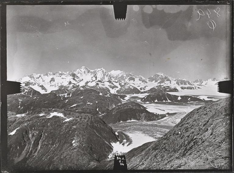 Unknown glacier, Taylor Bay, Alaska