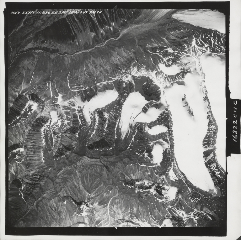 Yellowjacket Creek, aerial photograph M 836 30, Alaska