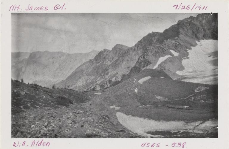Mount James, Montana
