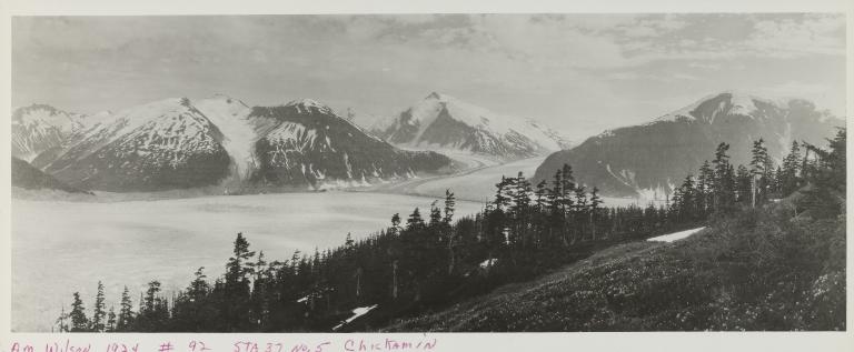 Chickamin Glacier, Alaska