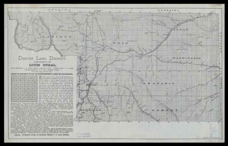 Denver land district
