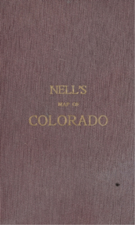 Nell's topographical map of the state of Colorado