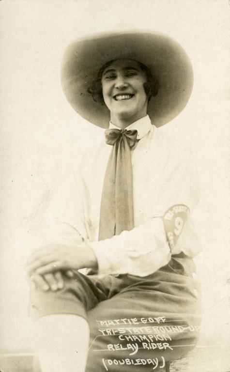 Portrait of Mattie Goff