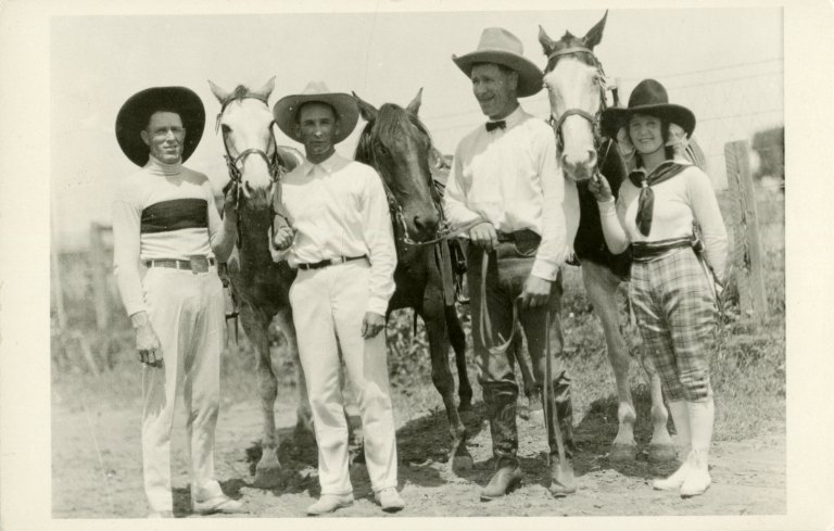 Leonard and Mayme Stroud with others