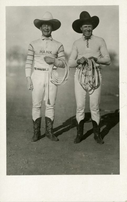 Leonard Stroud and Hank Durnell