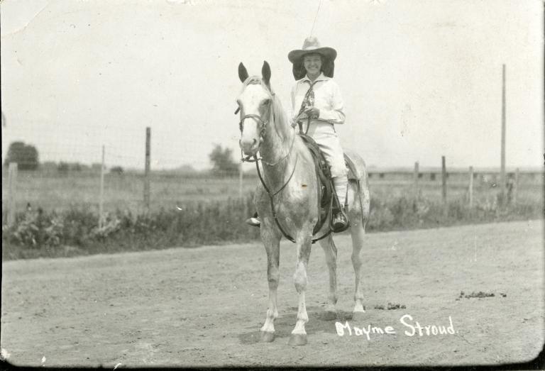 Portrait of Mayme Stroud