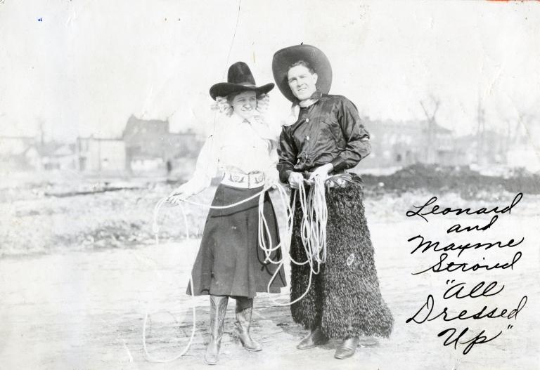 Portrait of Leonard and Mayme Stroud