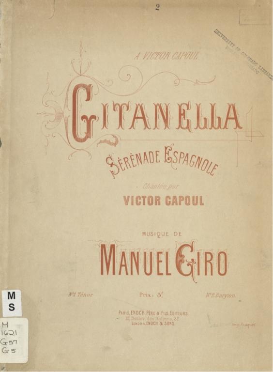 Gitanella: sérénade espagnole