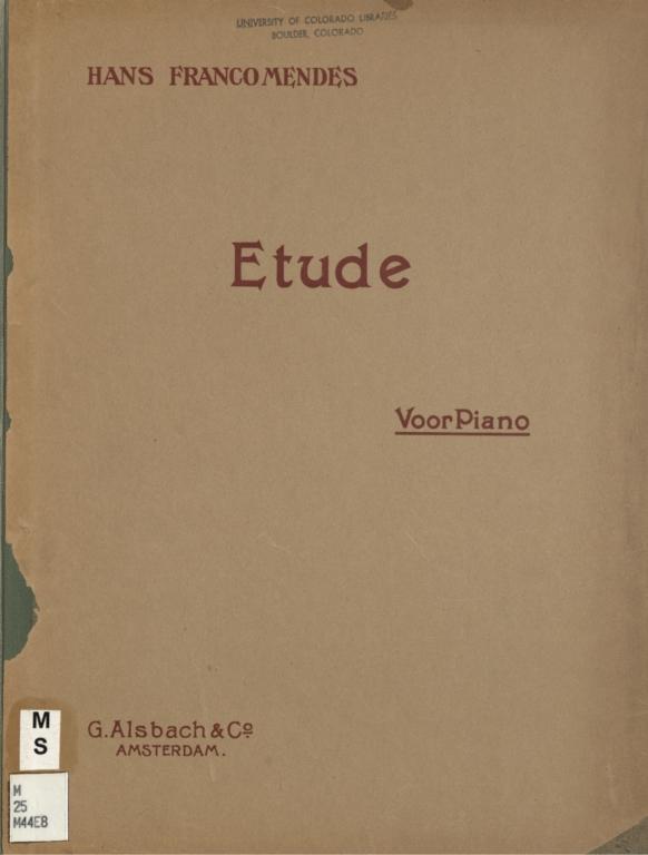 Etude voor piano