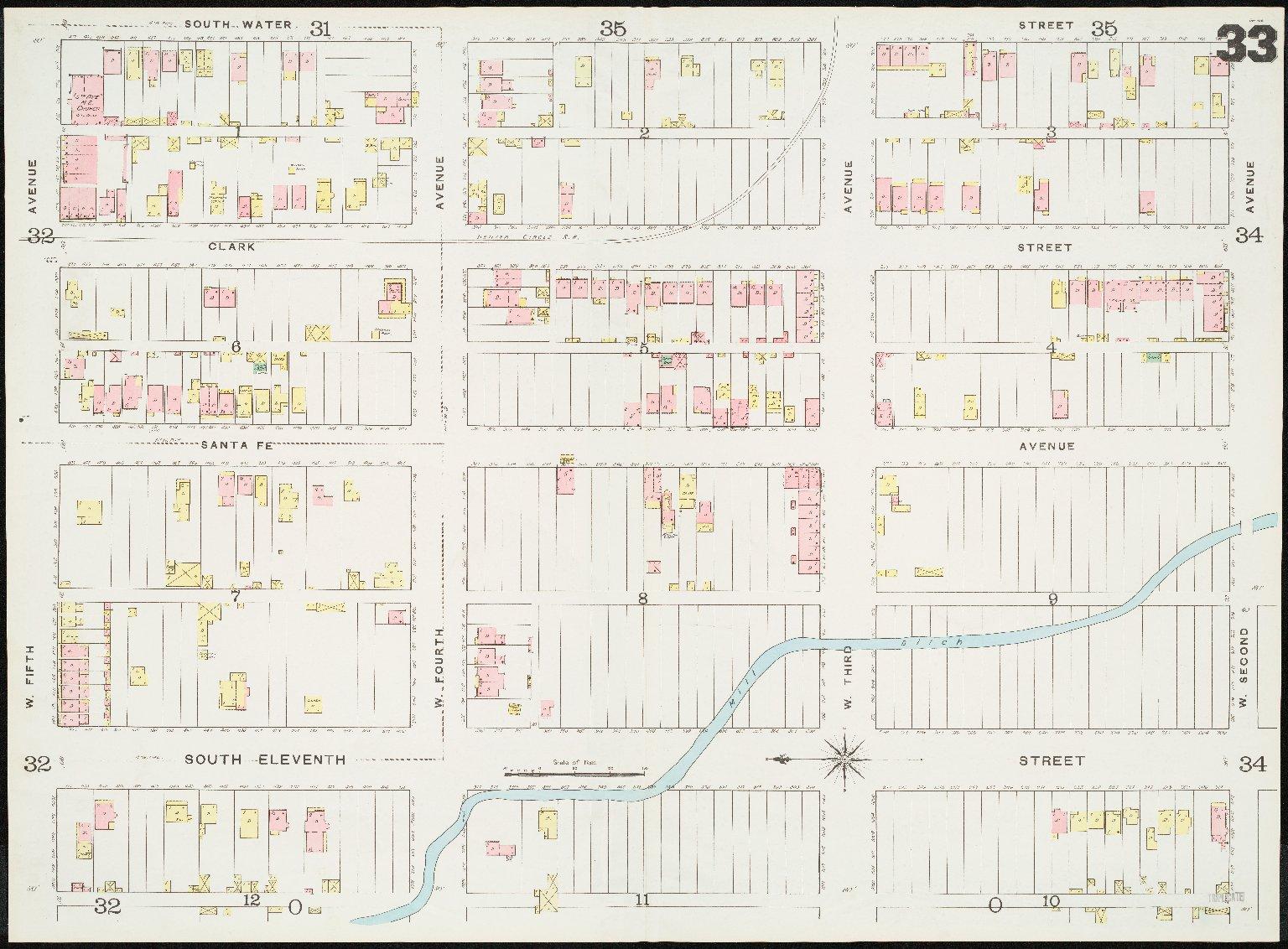 Insurance maps of Denver, Colorado. Volume one