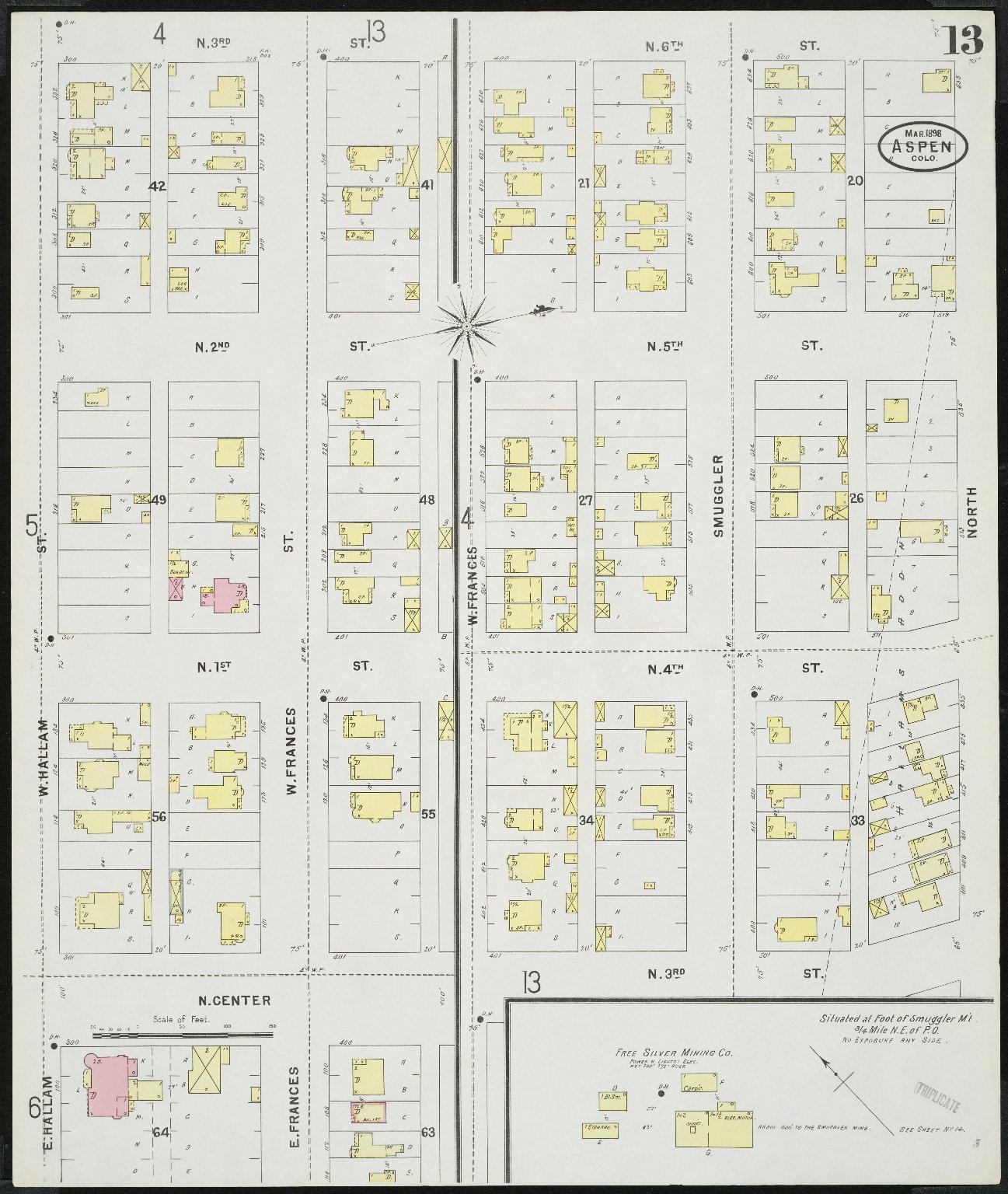 Insurance maps of Aspen, Pitkin Co., Colorado
