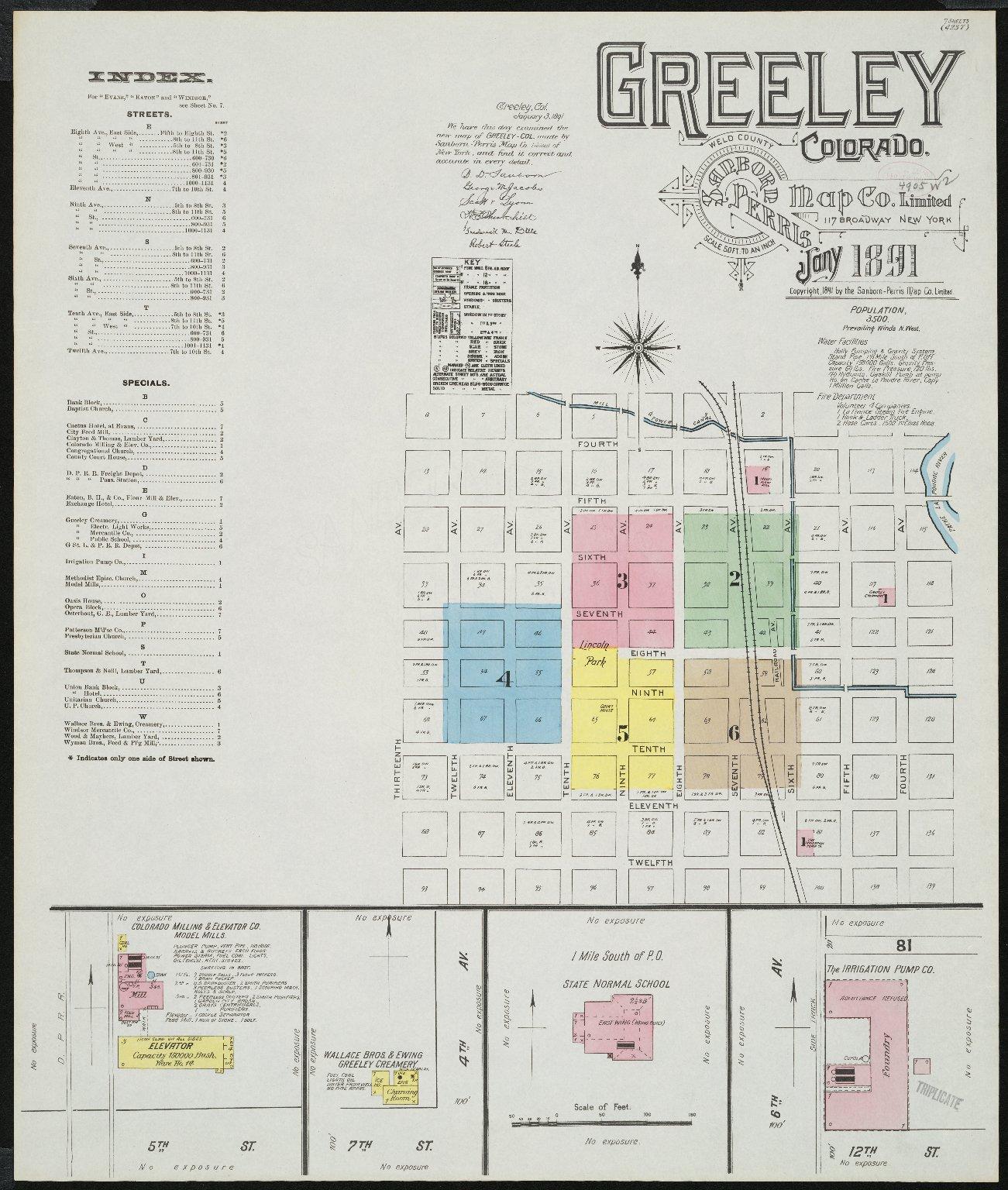Greeley, Weld County, Colorado