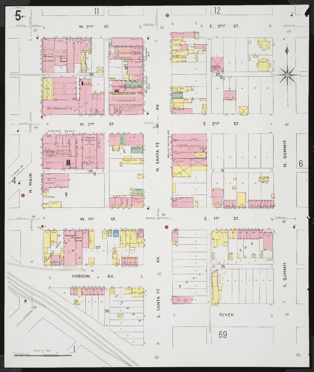 Insurance maps of Pueblo, Colorado. Volume one