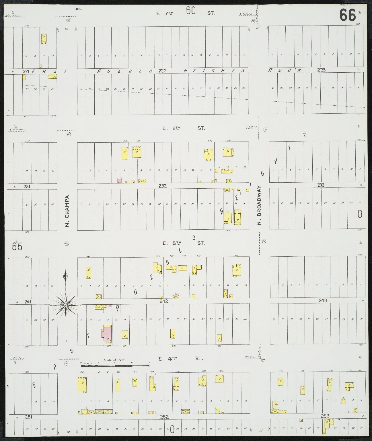 Insurance maps of Pueblo, Colorado. Volume one