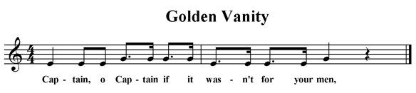 Golden Vanity (fragment)