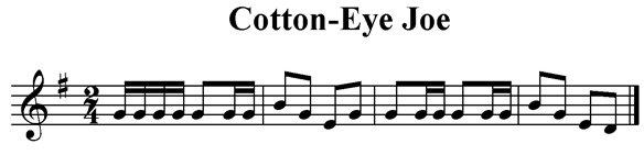 Cotton-Eyed Joe
