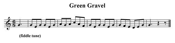 Green Gravel (fragment)