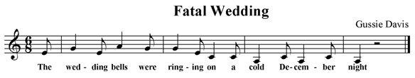 Fatal Wedding
