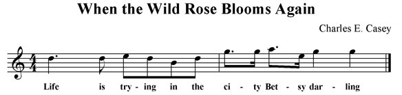 When the Wild Rose Blooms Again
