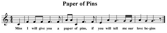 Paper of Pins