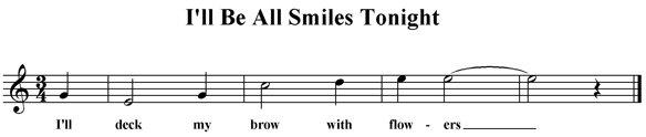 I'll Be All Smiles Tonight