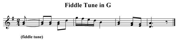 Fiddle Tune in G