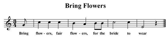 Bring Flowers