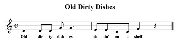 Old Dirty Dishes