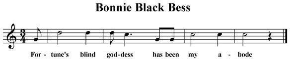 Bonnie Black Bess
