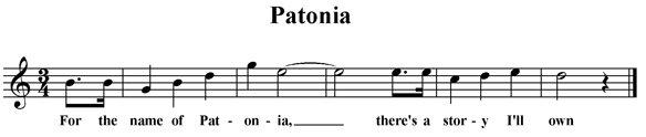 Patonia (fragment)