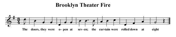 Brooklyn Theater Fire