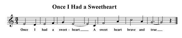 Once I Had a Sweetheart