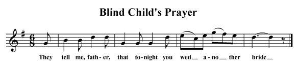 Blind Child's Prayer
