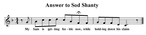 Answer to Sod Shanty