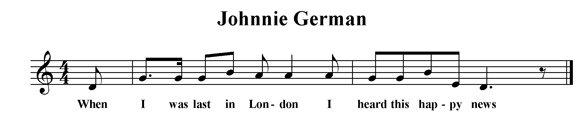 Johnnie German
