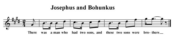 Josephus and Bohunkus