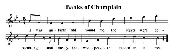 Banks of Champlain