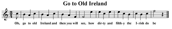 Go to Old Ireland
