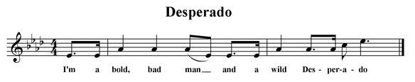 Desperado (fragment)